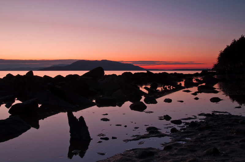 Rock Reflections<br /> Clayton Beach, WA