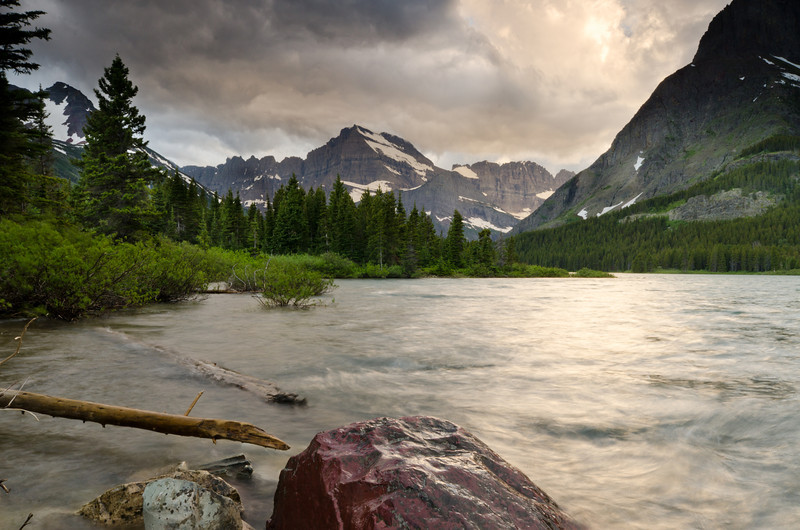 Storm Clouds Moving<br /> Glacier National Park, Montana