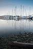 Marina Reflections<br /> Anacortes, WA