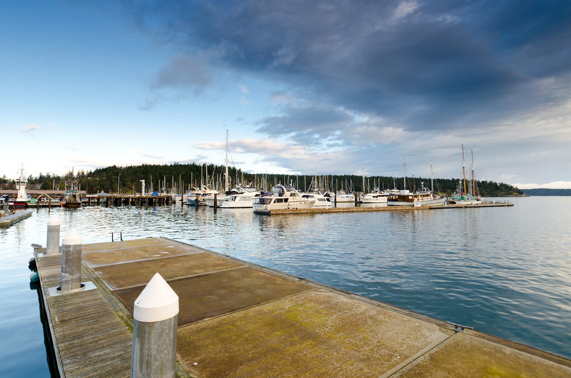 Friday Harbor Marina<br /> San Juan Island, WA