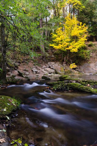 Whatcom Falls Pool in Fall