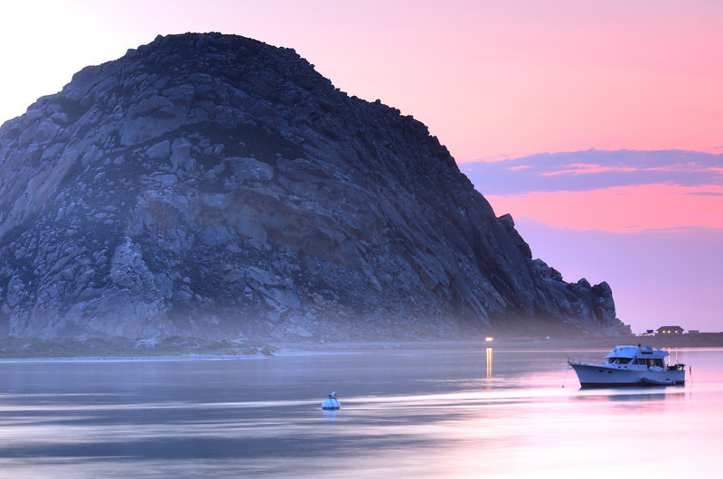 Sunset Colors<br /> Morro Bay