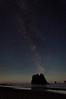 Night Sky<br /> Second Beach<br /> Olympic National Park