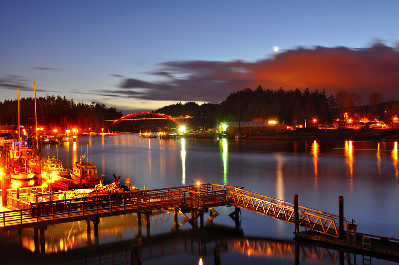 Calm of Moonlight<br /> La Conner, WA