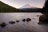Morning Light at Trillium Lake