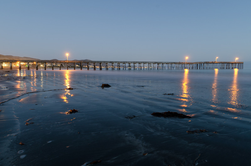 Cayucos Pier Reflections
