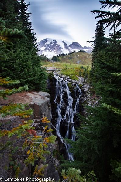 Mt. Rainier Waterfall