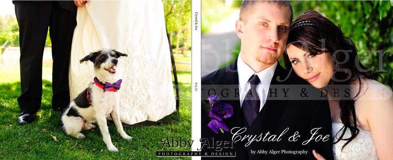 Crystal & Joe Wedding Album Cover