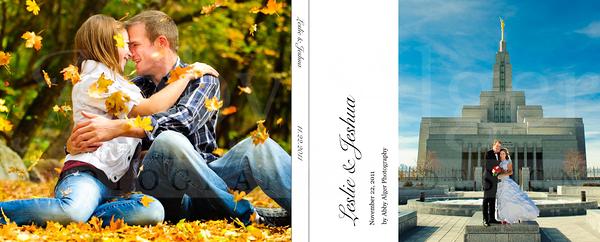 001 Leslie & Jeshua Wedding Album Cover
