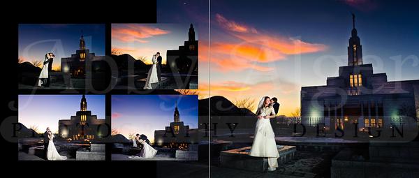 Melissa & Todd Wedding Album 012