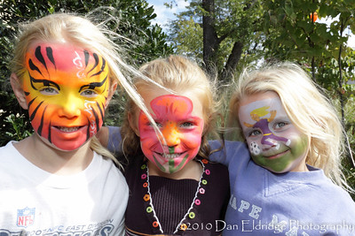 """Summit Medical Group's """"Live Well"""" Event 2010 (Face Painting by AgostinoArts.com)"""