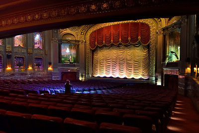 Through RPMG I got into the Byrd Theater where shooting was tough but rewarding.