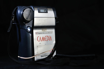 This is my first digital camera. It is a 2.1 Mega Pixel Olympus Digital/Polaroid Camera. I used it primarily for documenting issues on boats I surveyed for clients and insurance companies.