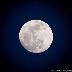 Waxing Moon (98% Full) - 4/13/14