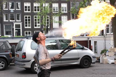 Street Performer, Amsterdam, Netherlands
