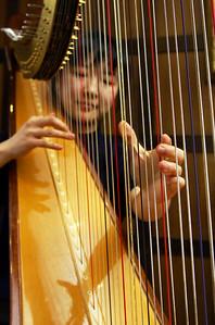 Harp practice