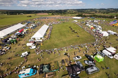 wensleydale show aerial view  PIC DM(1)