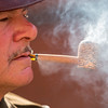 World war two enthusiasts reenact the era in period costumes