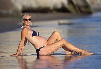 California beach bump