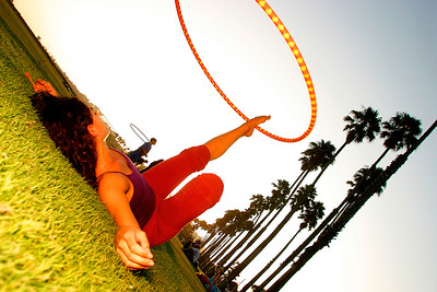 Hoop girl, California.