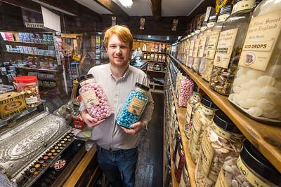 smallest sweetshop-pateley bridge-owner Ben Howie (15)