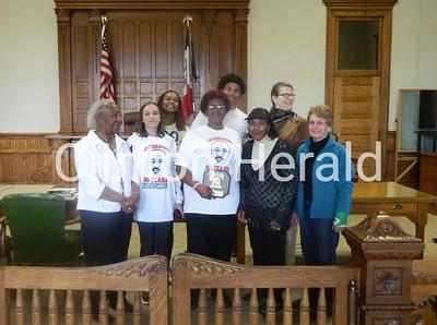 2014 Libery Bell Award presentation