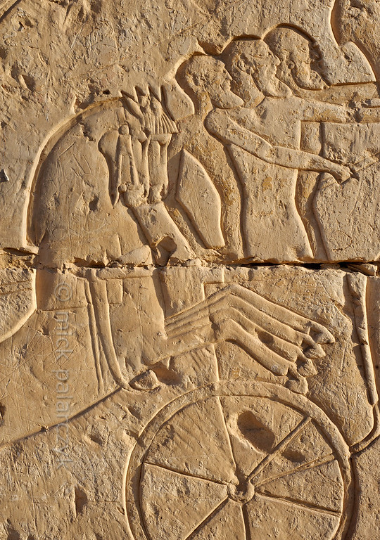 [Egypt 29995] 'Battle of Kadesh at Abydos.'