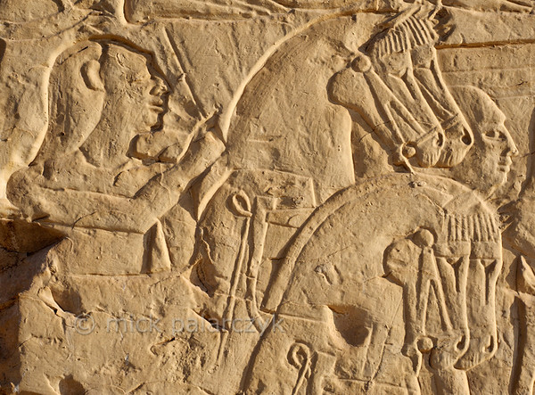 [Egypt 29993] 'Battle of Kadesh at Abydos.'