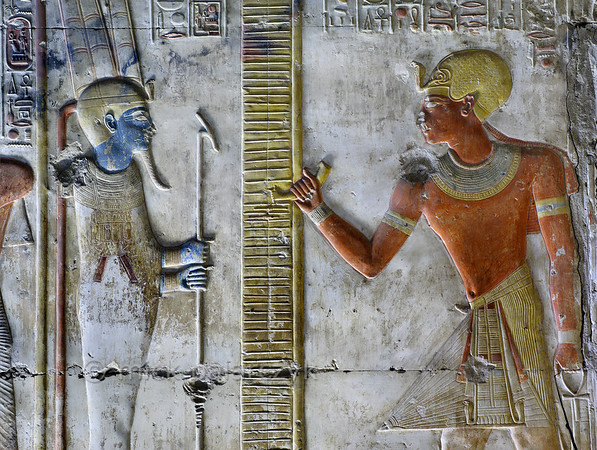 [Egypt 29881] 'Seti and Amun-Ra at Abydos.'