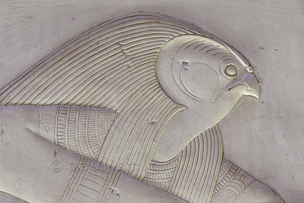 [Egypt 29961] 'Horus in Ptah-Sokar Chapel at Abydos.'
