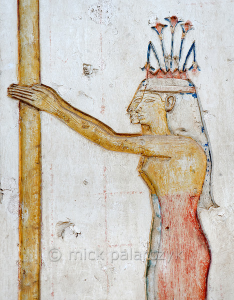 [Egypt 29980] 'Meret in Ramses II Temple at Abydos.'