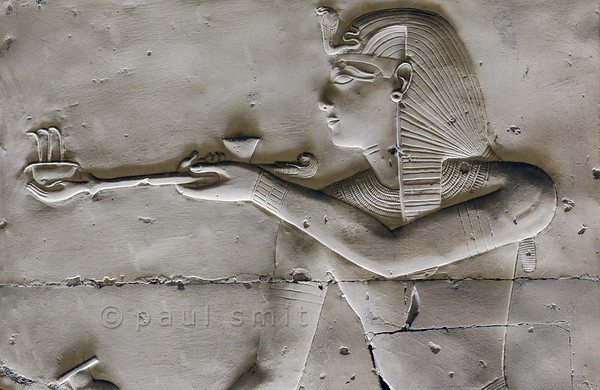 [Egypt 29952] 'Seti burning incense at Abydos.'