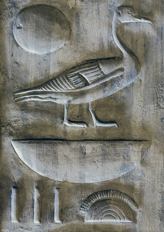 [Egypt 29956] 'Royal nomenclature in Nefertem-Ptah-Sokar Hall at Abydos'.