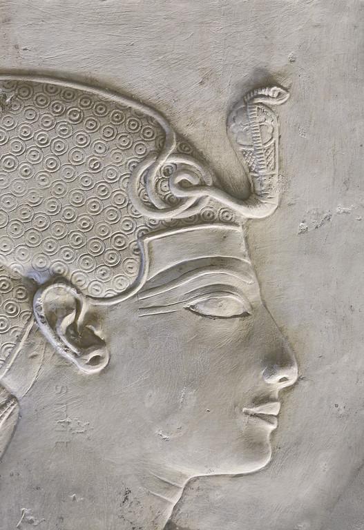 [Egypt 29912] 'Seti I in Horus Chapel at Abydos.'