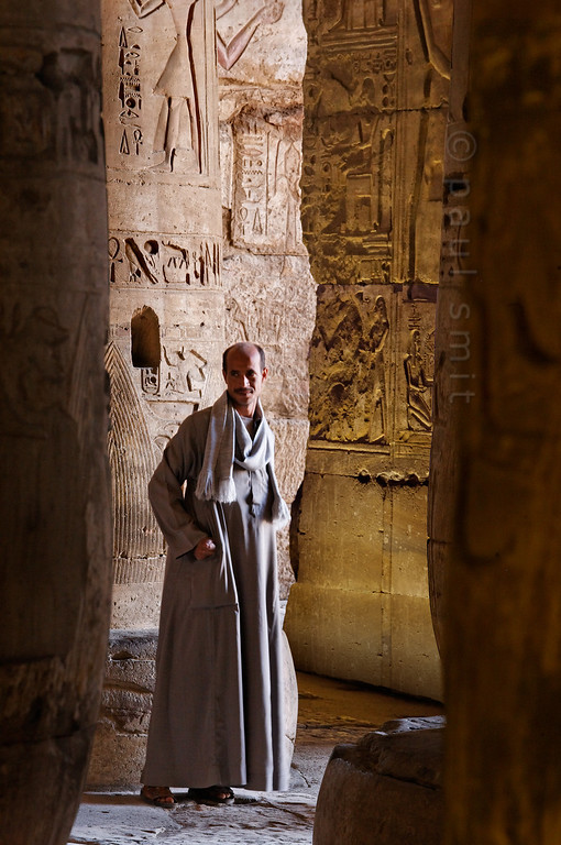 [Egypt 29976] 'Temple guard at Abydos.'