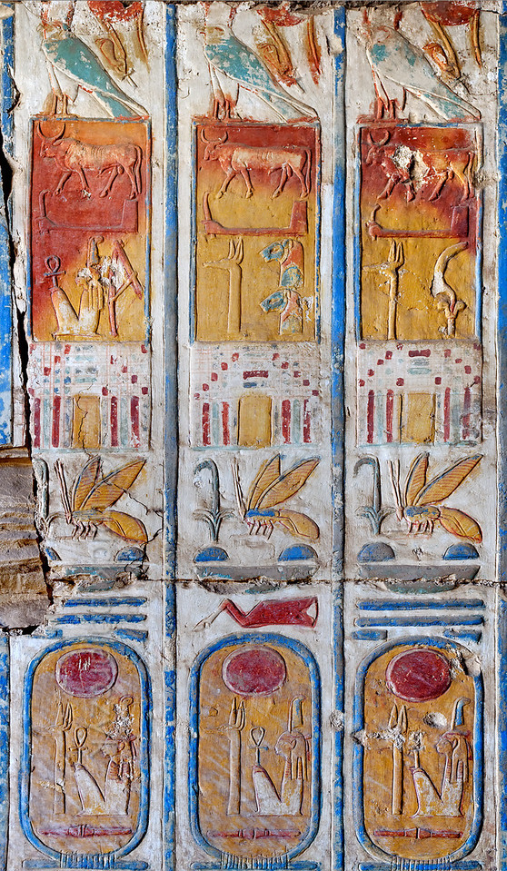 [Egypt 29988] 'Titulary of Ramses II at Abydos.'