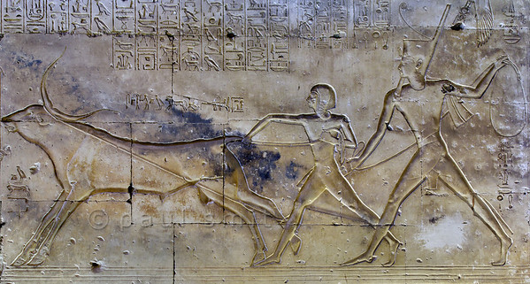 [Egypt 29969] 'Corridor of the Bull at Abydos.'