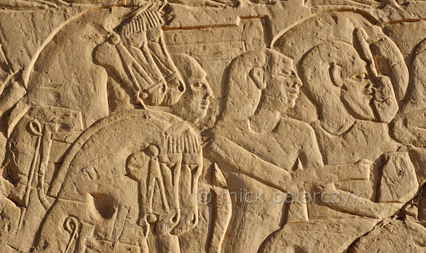 [Egypt 29992] 'Battle of Kadesh at Abydos.'