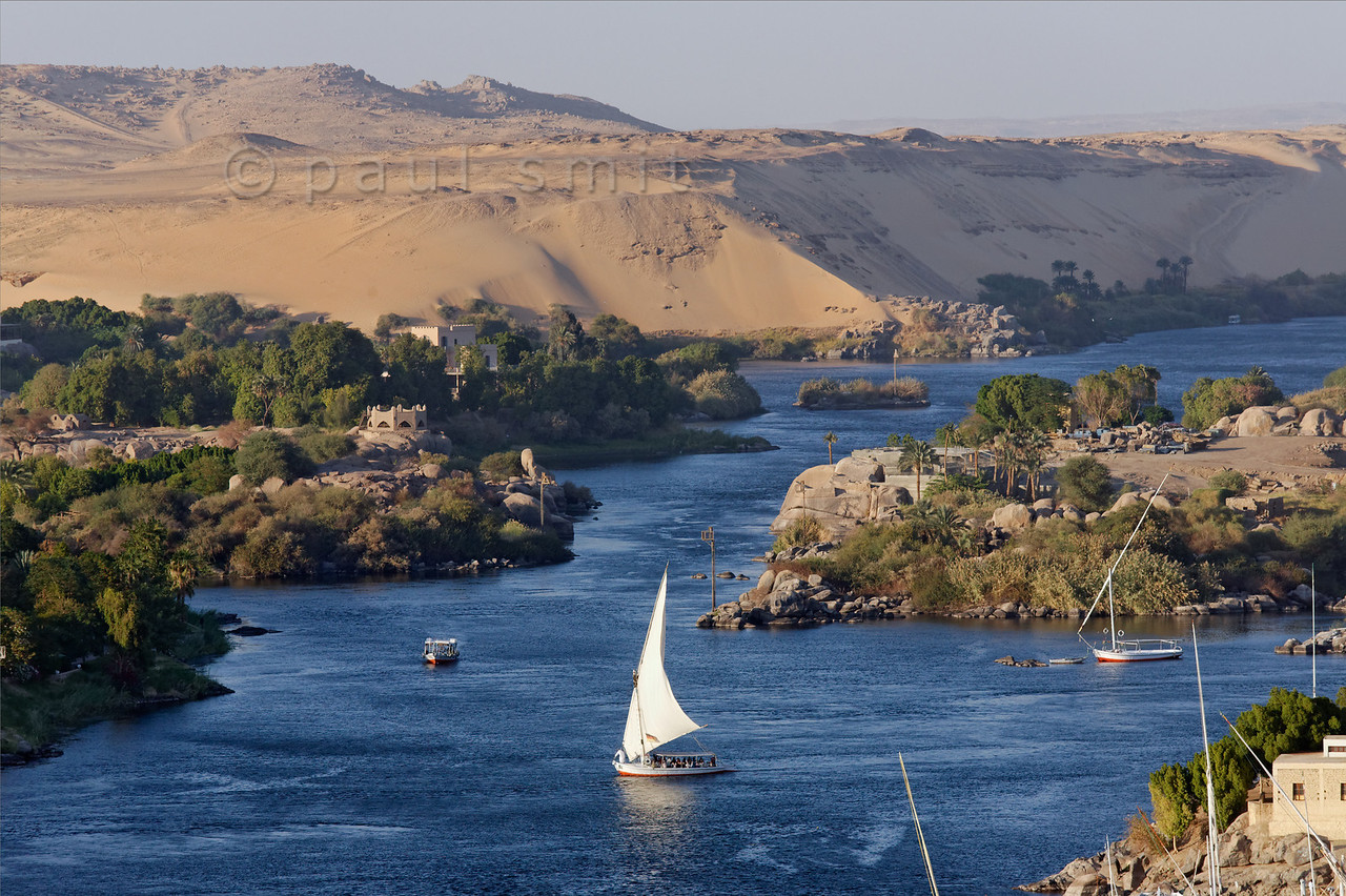 [Egypt 29706] 'First Cataract of Nile at Aswan.'