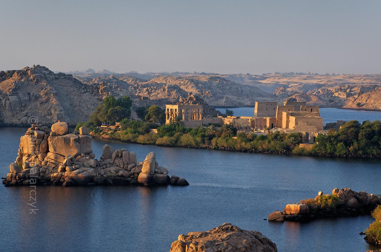 [Egypt 29717] 'The Isis Temple of Philae on Agilkia Island.'