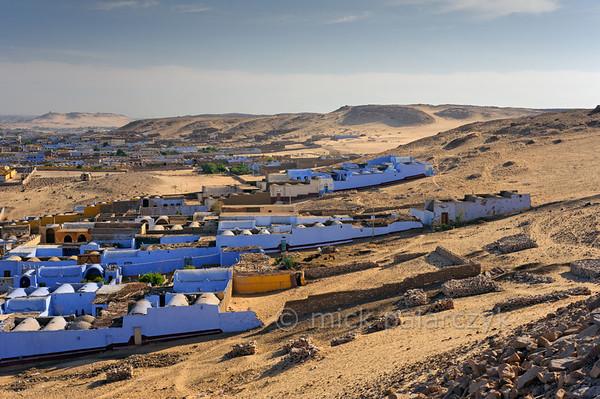 [Egypt 29645] 'Village of Nagaa Al Hamdelab near Aswan.'