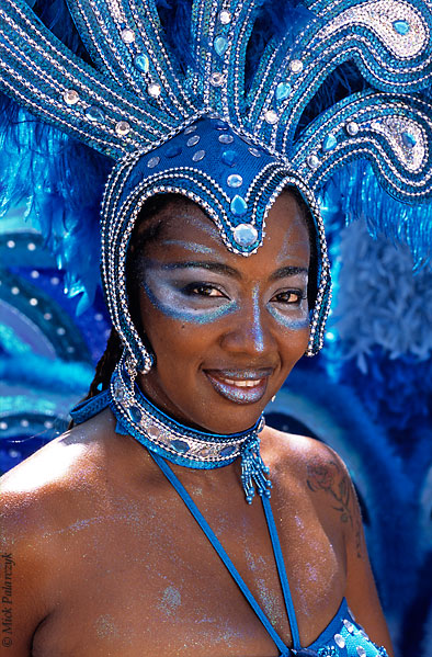 [ANTILLES.stMAARTEN 25.636] 'Carnival-3.' On St.Maarten, carnival is usually celebrated during the second half of April. This image was shot just outside Philipsburg during the preparations of the Grand Parade. Photo Mick Palarczyk.