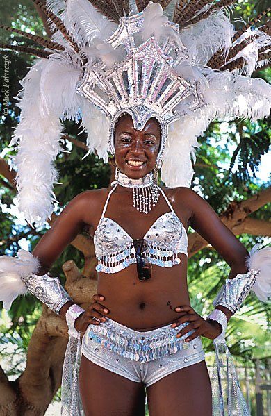 [ANTILLES.stMAARTEN 25.659] 'Carnival-12.' On St.Maarten, carnival is usually celebrated during the second half of April. This image was shot just outside Philipsburg during the preparations of the Grand Parade. Photo Mick Palarczyk.
