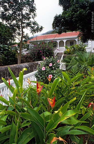 [ANTILLES.SABA 25.475] 'Scout's House-1.'	 Scout's House in Windwardside was built around 1890 by Captain Thomas Hassel. Photo Mick Palarczyk.