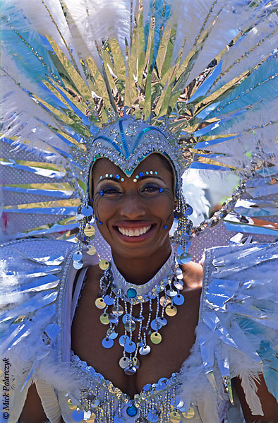 [ANTILLES.stMAARTEN 25.646]  'Carnival-16.'  On St.Maarten, carnival is usually celebrated during the second half of April. This image was shot just outside Philipsburg during the preparations of the Grand Parade. Photo Mick Palarczyk.