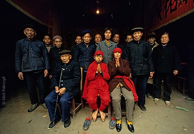 Southern China: shamans and the Kitchen God