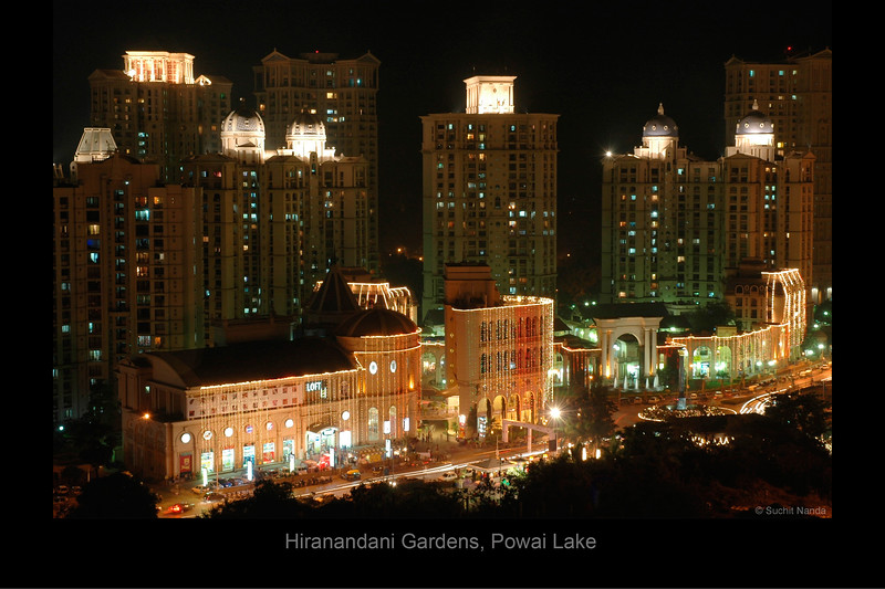 Haiko Mall and Rodas Hotel, Hiranandani Gardens, Powai Lake, Mumbai, India