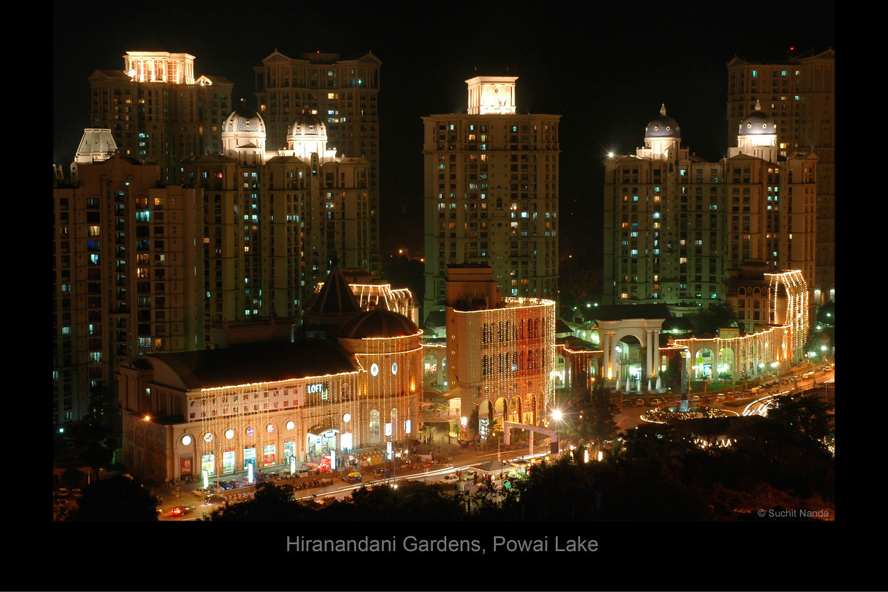 Haiko Mall and Rodas Hotel, Hiranandani Gardens, Powai Lake, Mumbai, India