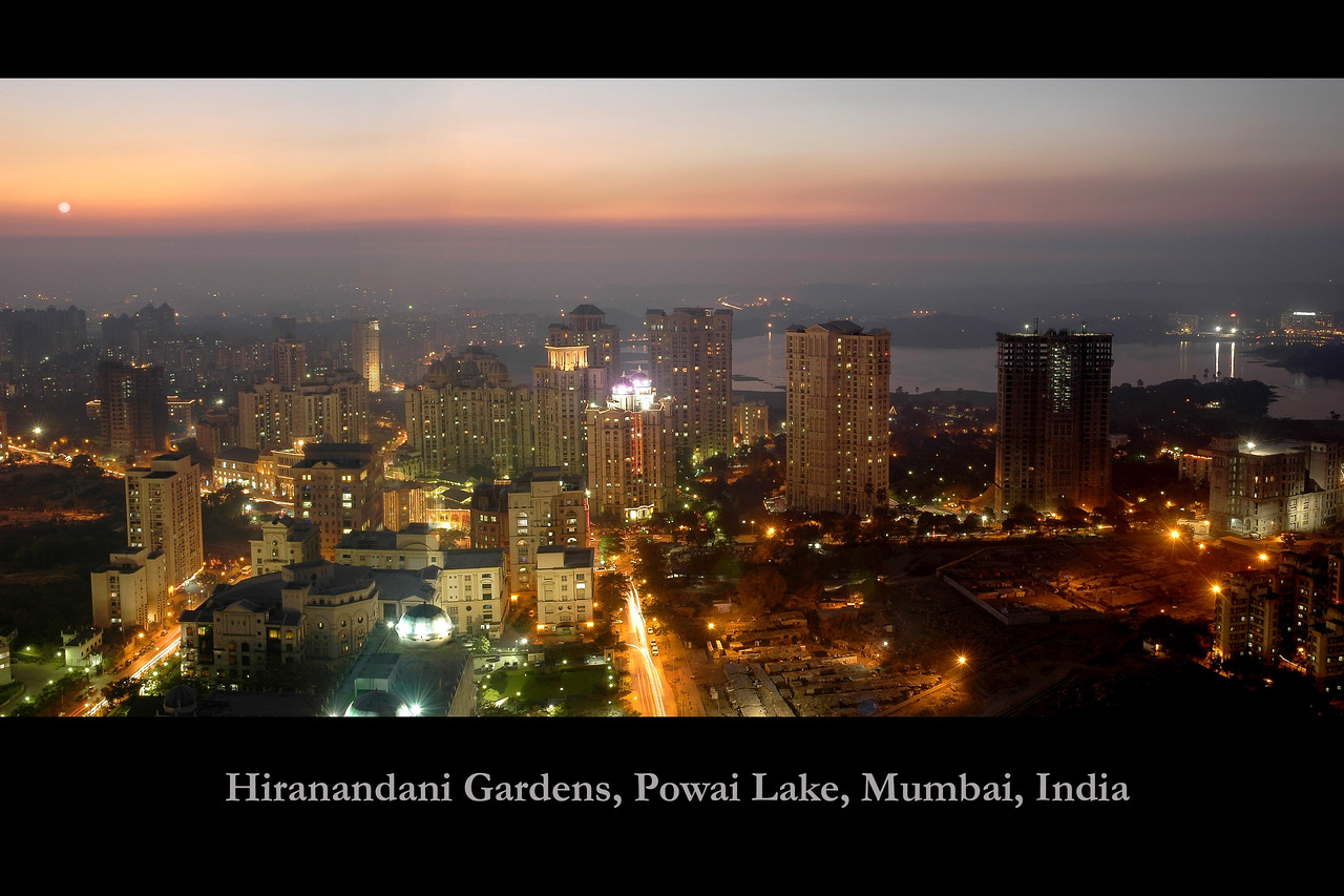 Hiranandani Gardens, Powai Lake, Mumbai, India