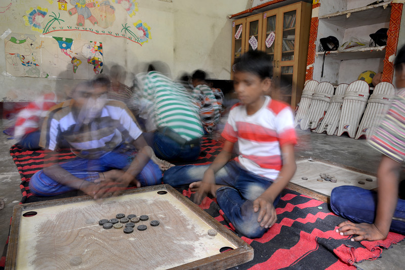 Children get ample playing time and facilities. Mukti Ashram is a safe haven for rescued child/bonded labourers till they are repatriated to their parents/guardians. Repatriation may take 6 to 8 weeks till the legal procedures are completed. <br /> <br /> Bachpan Bachao Andolan (BBA) is India's pioneering child rights organisation working towards the elimination of all forms of exploitation against children and for free and compulsory education of all children. Over the years BBA has rescued thousands of victims of trafficking, slavery and child labour. Victims are often malnourished, paid meagre wages, if at all, and work extremely long hours in difficult environments.